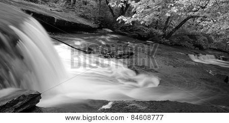 Flowing river