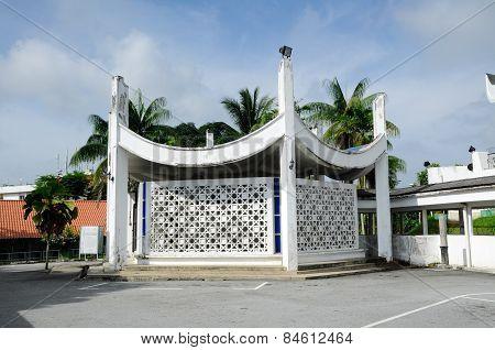Ablution of Negeri Sembilan State Mosque in Negeri Sembilan, Malaysia