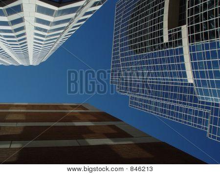 Three Buildings Meet