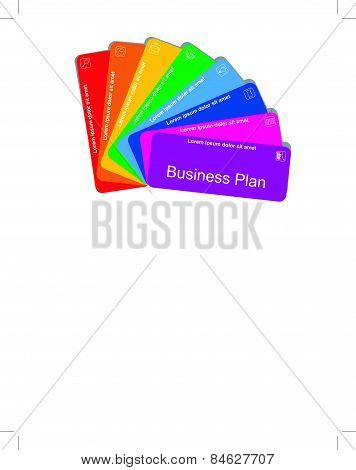 Colorful business plan