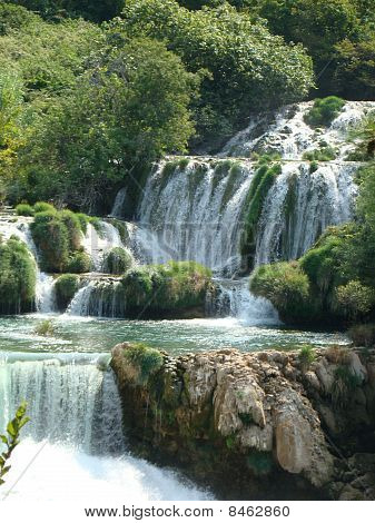 waterrfall in krka park