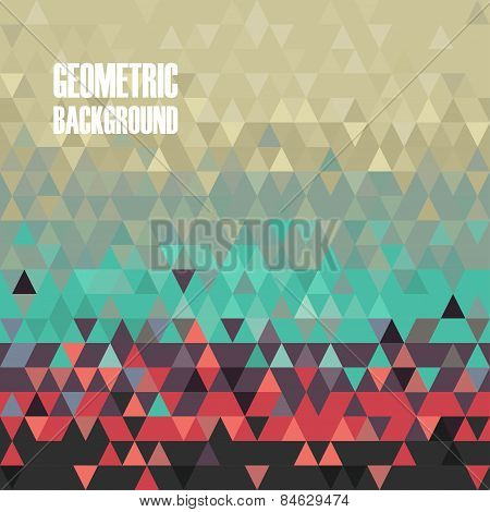 Vector Geometric Polygon Background