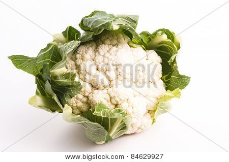 Healthy Organic Cauliflower