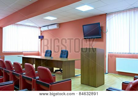 Meeting room interior
