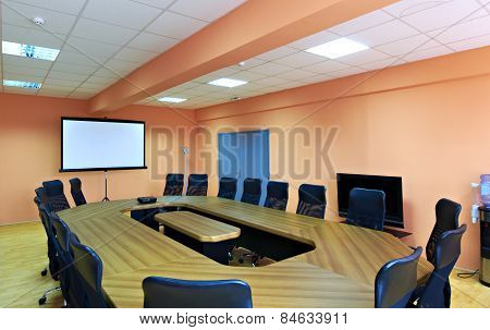 Conference room interior