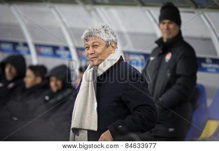 Fc Shakhtar Donetsk Manager Mircea Lucescu