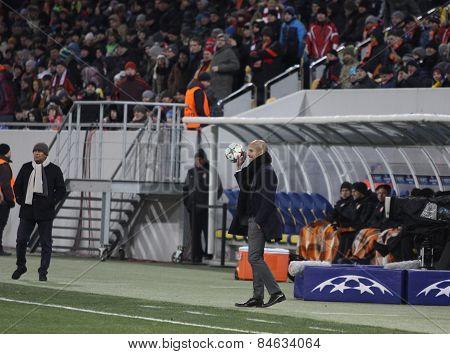 Fc Bayern Munich Manager Josep Guardiola