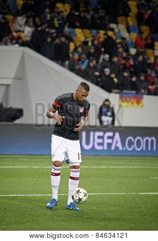 Jerome Boateng Of Bayern Munich