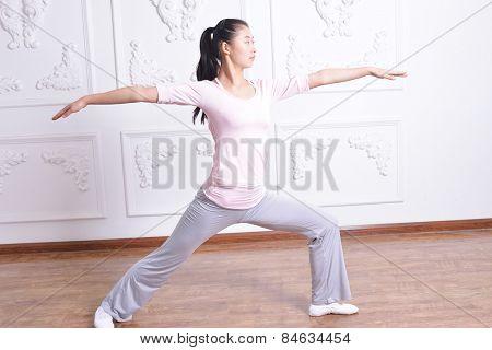 Yoga Exercise Indoors