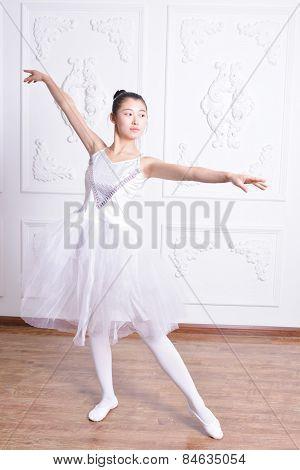 Stretching Ballet Actress