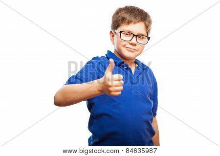 Little Boy Giving You A Like