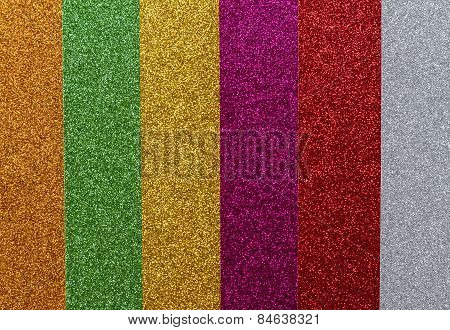 Striped Glitter