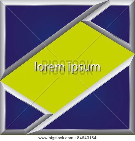Pattern Design Over Lineal   Background Vector Illustration