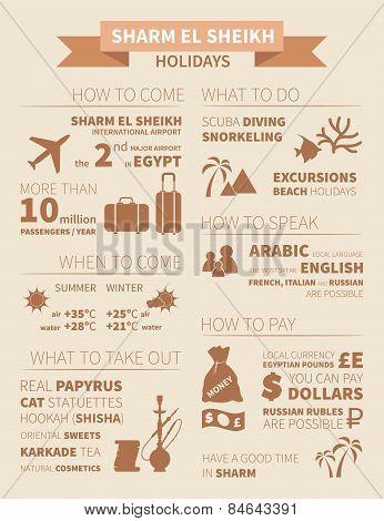 Sharm El Sheikh Infographic