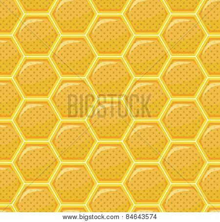 Honeycomb Seamless Pattern Repeat