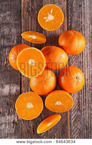 fresh clementine or orange