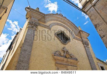 Historical church. Altamura. Puglia. Italy.