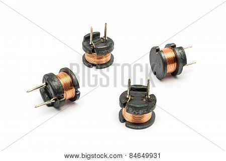 Small Ferrite Inductor For Electronic