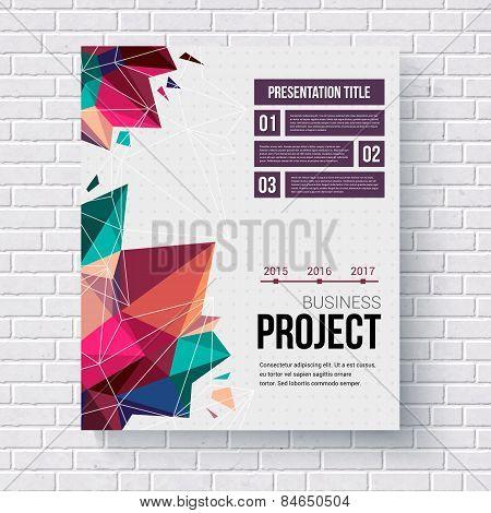 Presentation brochure template
