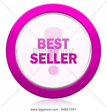 best seller violet icon