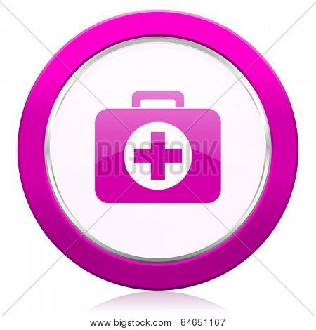 first aid violet icon hospital violet icon