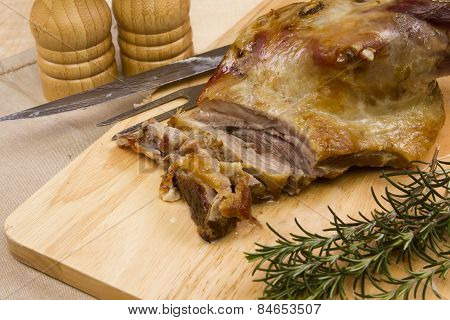 Welsh lamb shoulder