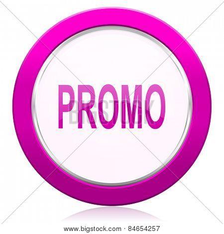 promo violet icon