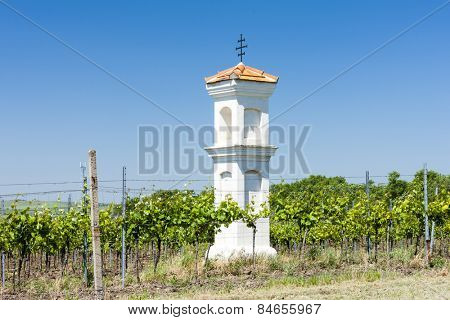 God's torture with vineyard, Palava, Czech Republic