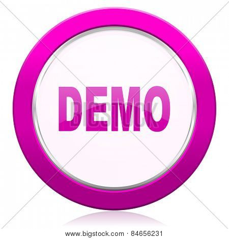 demo violet icon