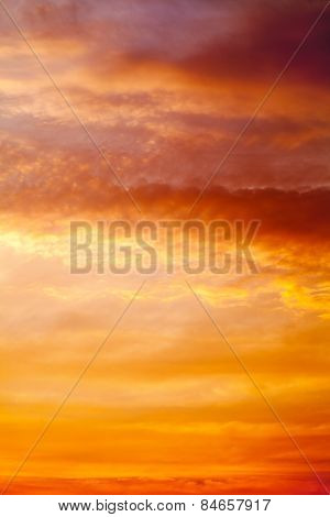 Sky At The Sunrise Background