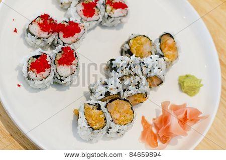 Seafood Sushi Rolls