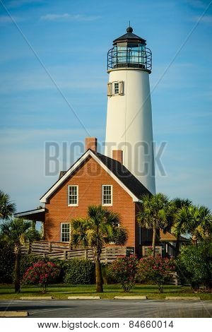 Lighthouse on St. George Island, Florida