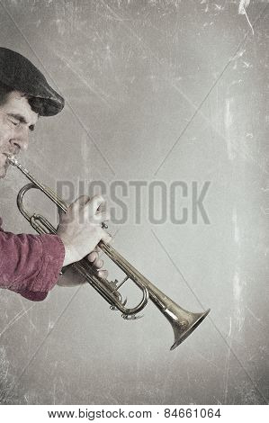 Vintage Trumpet Playing