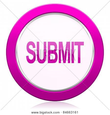 submit violet icon