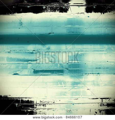 Grunge old-fashioned background with space for text or image. With different color patterns: gray; blue; black; cyan
