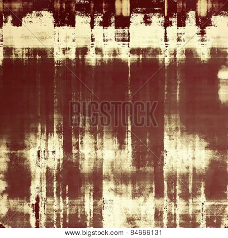 Old-style background, aging texture. With different color patterns: yellow (beige); brown; gray; black