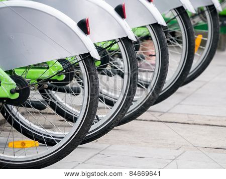 Public Bicycle Line Up