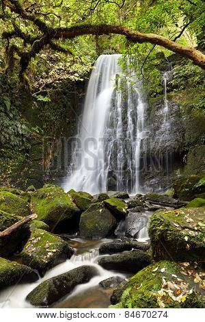 Matai Falls, South Island, New Zealand