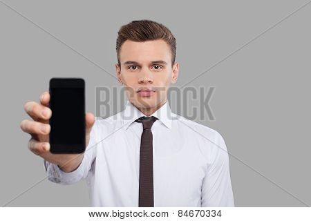 Man With Mobile.