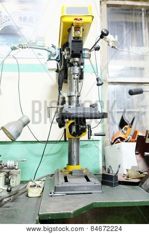 The image of drilling machine