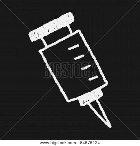Syringes Drawing