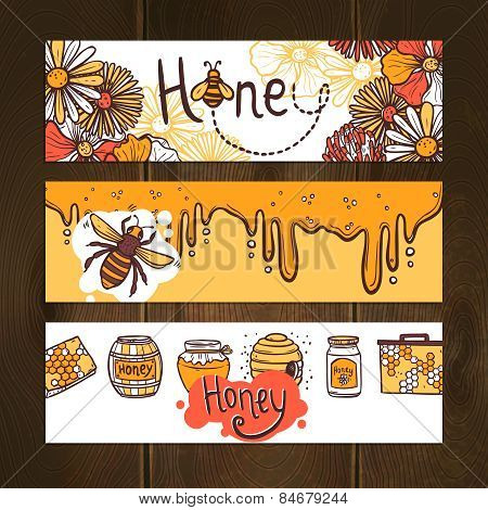 Honey Banner Set