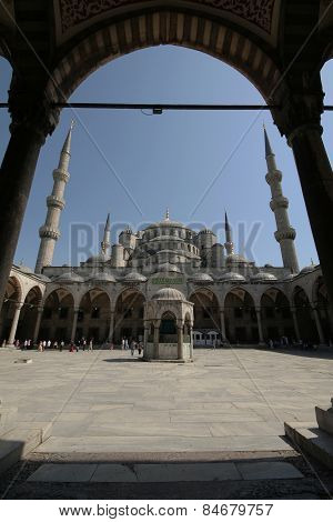 Hagia Sophia In Istanbul,turkey