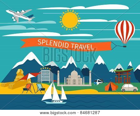 Splendid Travel Background