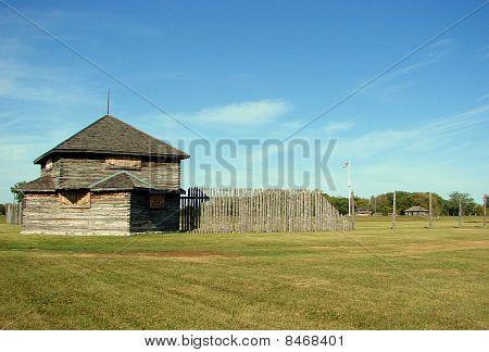 corner building of stockade