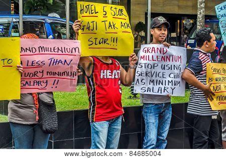 Grand Millennium Kuala Lumpur Employees' Protest