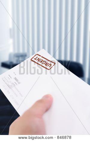urgent letter