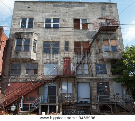 Grungy Old Building