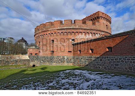 Fort Dohna. Kaliningrad (former Koenigsberg), Russia
