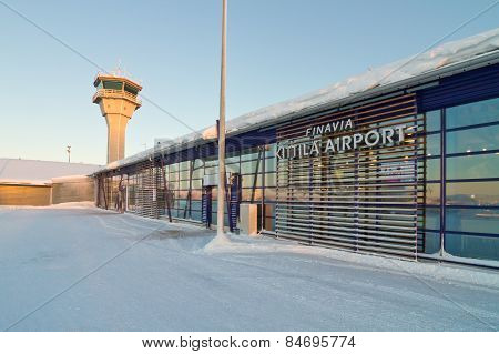 Kittila Airport Tower And Terminal Building, Finland - Lapland